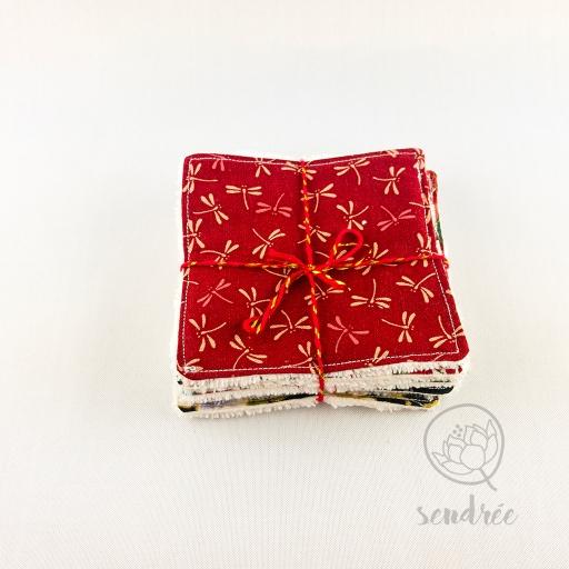 Set lingettes classical sendrée tissu japonais