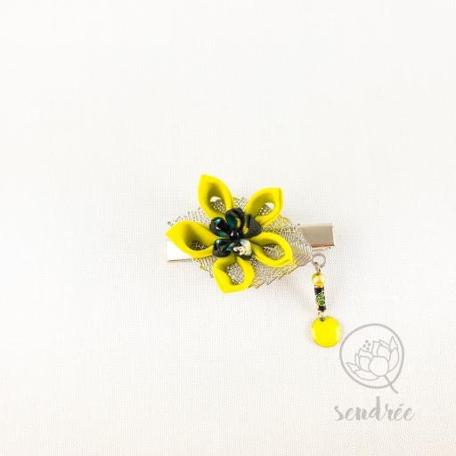 Pince croco sunflower sendrée tsumami zaiku