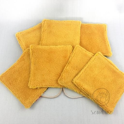Set lingettes tokyo sendrée tissus japonais