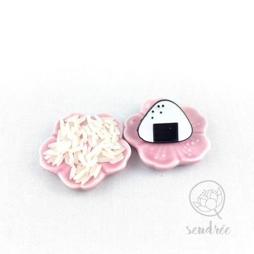 Pin's onigiri sendrée