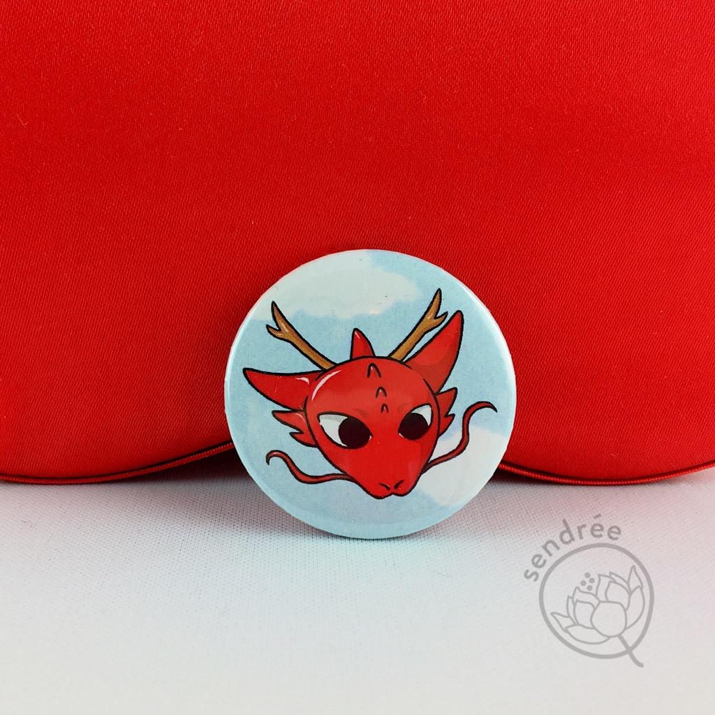 Badge Dragon sendrée