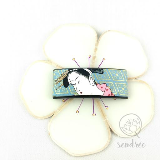 Barrette L geisha